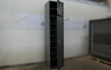 Шкаф универсальный тип А-Ф в открытом положении
