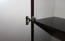 Дверные петли индивидуальной мебели