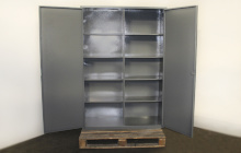 Шкаф 04-02 металлический в открытом виде