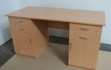 Фотографии двухтумбового офисного стола РМЗ-СД-06
