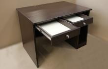 Фото компьютерного стола (венге) в открытом виде