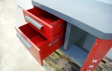 Фото ящиков стола слесаря-ремонтника вид сверху