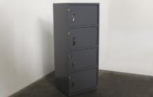 Фото шкафа металлического четырехъячеечного ШМЧ