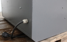 Фото сетевого кабеля шкафа для сушки одежды ШСО-22М