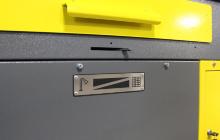 Фотография переключателя вентиляции стола СС-1200