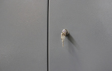 Фото замка шкафа для сушки одежды ШСО-22М