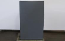 Шкаф металлический вид сзади