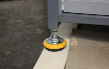Металлическая ножка шкафа Шим
