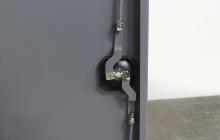 Ригельна система навесных дверей