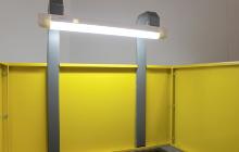 Фото освещения стола сварщика СС-01-02