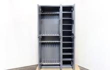 Шкаф оружейный в открытом виде
