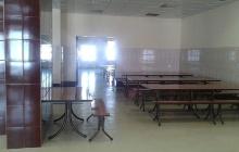 Установка обеденных столов на 10 человек