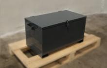 шкатулка металлическая для хранения боеприпасов