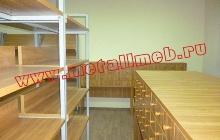 Картотечный шкаф для библиотеки