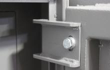 Навесные петли армейского металлического сейфа