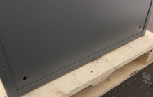 Фото металлической панели армейского сейфа