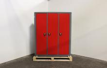 Шкаф металлический ШИМ-10 вид спереди