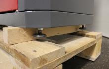 Фотография металлических ножек шкафа ШИМ-10