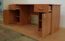 Фото офисного стола РМЗ-СД-14 вид №5