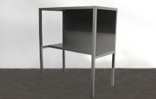 Общий вид металлического стола