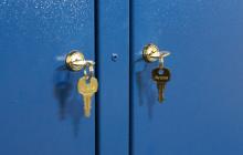 Фото замков с ключами диагностической тележки ТДМ-1