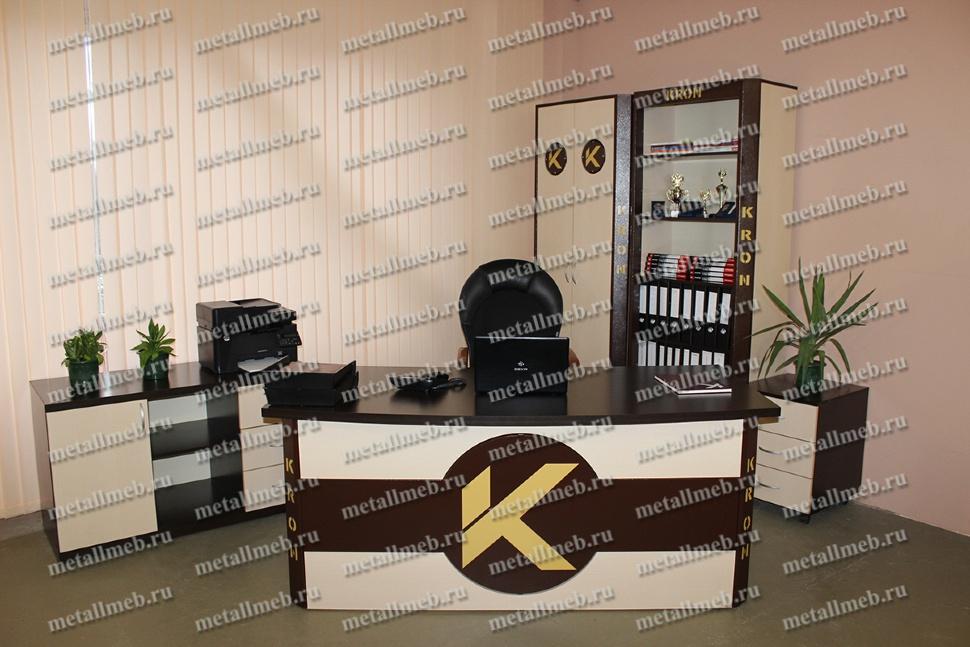 Фото индивидуальной офисной мебели