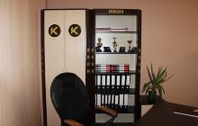 Шкаф индивидуальной офисной мебели