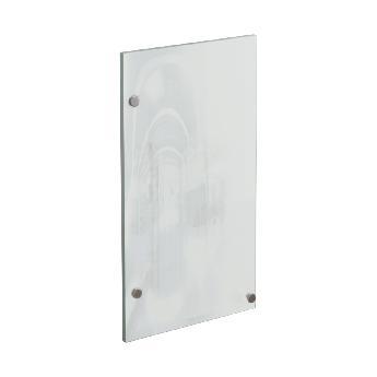 Дверца стеклянная для офисного шкафа РМЗ-СтШ.1