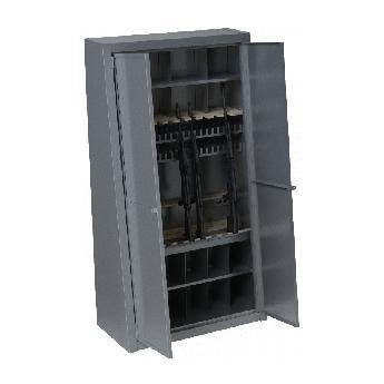 Пирамида для хранения оружия с распашными дверями
