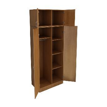 Шкаф для одежды с антресолью КРОН-ШК-02А