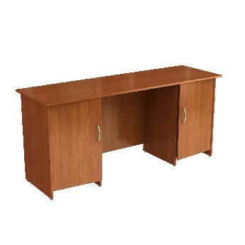 Стол письменный двухтумбовый (с дверками) Н126