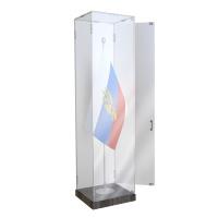 Шкаф стеклянный для хранения Боевого знамени тип А
