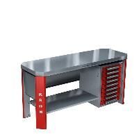 Металлический стол для рабочего места ГЕФЕСТ-ВС-009