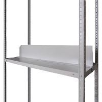 Продольный сплошной разделитель для металлического стеллажа