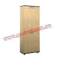 Шкаф для одежды РМЗ-ШБ-08 с индивидуальной надписью