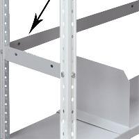 Планка ограничительная для металлического стеллажа