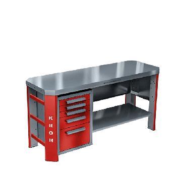Слесарный стол для гаража ГЕФЕСТ-ВС-500