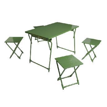 Столовый набор полевой сборно-разборной мебели