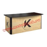 Стол для руководителя РМЗ-СПБ-03 с индивидуальной надписью и логотипом