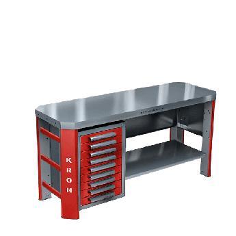 Металлический стол для рабочего места ГЕФЕСТ-ВС-900