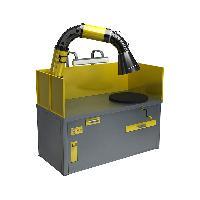 Поворотный сварочный стол с вытяжкой ССУ-01-05