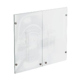 Дверцы стеклянные для офисного шкафа КРОН-СтШ.3