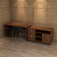 Набор мебели для кабинета КРОН-КМ-06