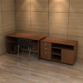 Набор мебели для кабинета РМЗ-КМ-06