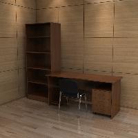 Набор мебели для бухгалтерии КРОН-КМ-07