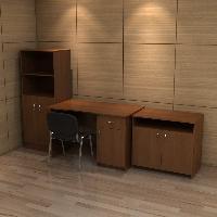 Комплект мебели для бухгалтерии КРОН-КМ-08