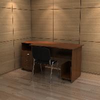 Комплект мебели для офисного кабинета РМЗ-КМ-09