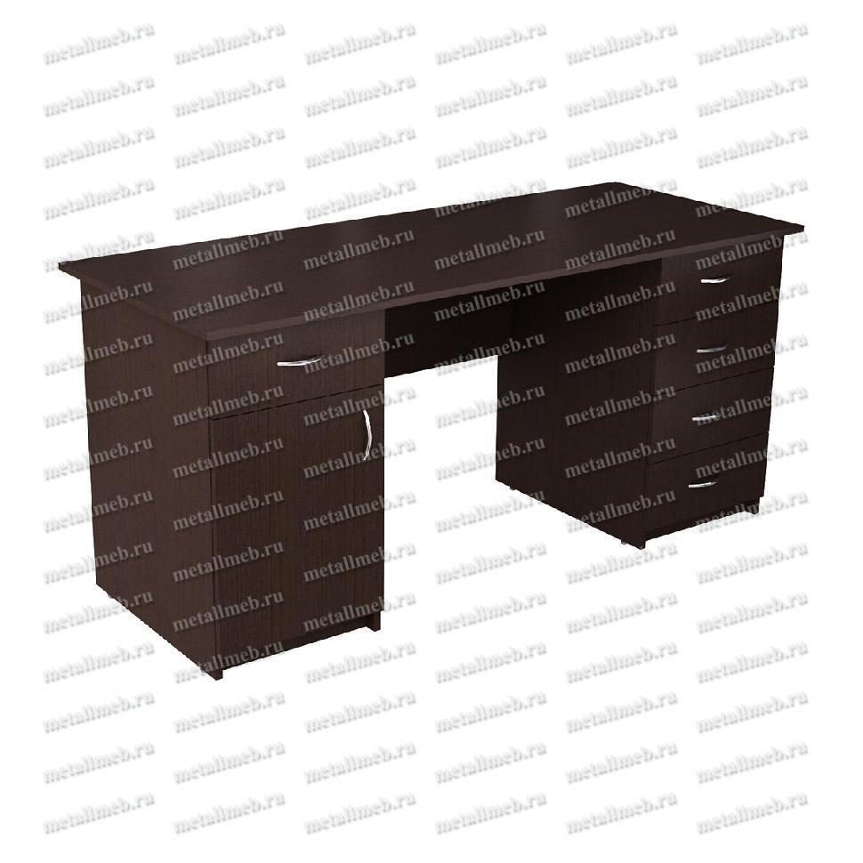Письменный стол двухтумбовый РМЗ-СД-18