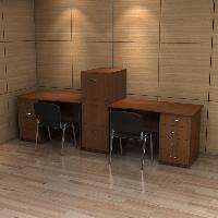 Комплект мебели для рабочего кабинета РМЗ-КМ-10
