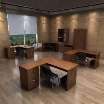 Готовый набор офисной мебели РМЗ-КМ-12